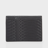 Paul Smith No.9 - Slate Grey Leather Credit Card Wallet