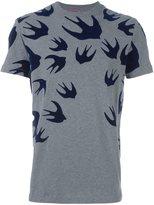 McQ by Alexander McQueen 'Swallow' T-shirt - men - Cotton - M