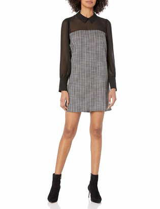 BCBGeneration Women's Tweed Shirt Dress