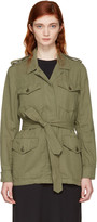 Rag & Bone Green Bennett Military Jacket
