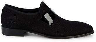 Mezlan Barrio Textured Suede Loafers