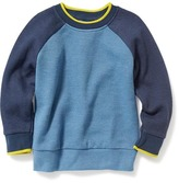 Old Navy Color-Blocked French-Rib Sweater for Toddler