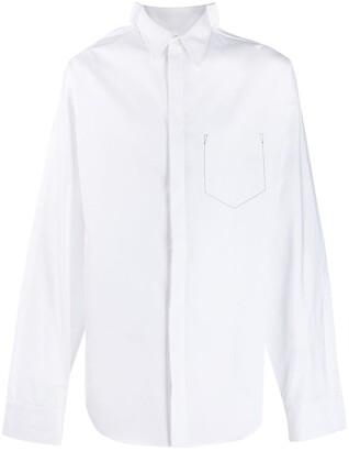 Maison Margiela stitch pocket shirt