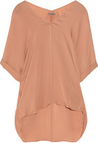 Vince Washed-silk top