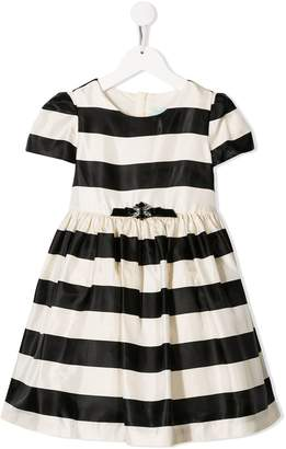 Lula Abel & striped pattern dress