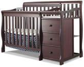 Sorelle Newport 2-in-1 Convertible Mini Crib and Changer