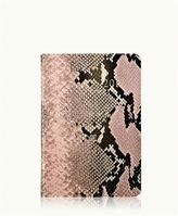 GiGi New York 2017 Daily Journal Pink Embossed Leather
