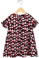 Kate Spade Girls' Cupcake Print Shift Dress