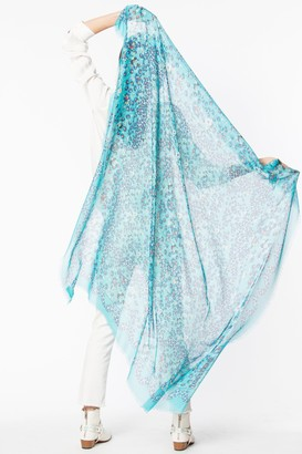 Zadig & Voltaire Kerry Garden Butterfly scarf