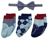 Mud Pie Bow Tie and Sock Set (Infant)