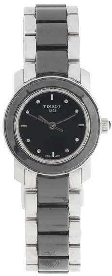 Tissot T-Trend Cera Black Ceramic Womens Quartz 28mm Watch