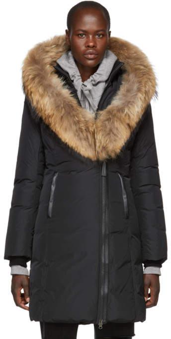 Mackage Black Kay Classic Down Coat