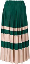 No.21 pleated midi skirt - women - Silk/Acetate - 42