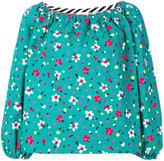 Marc Jacobs embroidered blouse - women - Silk/Cotton/Spandex/Elastane - 0