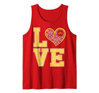 Tailgate Iowa State Cyclones Stacked Love Print Graduation Tank Top