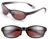 Maui Jim Women's Pipiwai Trail 56Mm Polarized Sunglasses - Gloss Black
