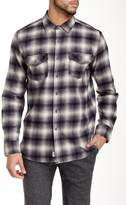 Micros Rainier Plaid Long Sleeve Regular Fit Shirt