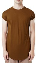 Topman Drop Shoulder Longline T-Shirt