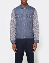 Junya Watanabe Wool Jacquard x Lawn Print Levi's Jacket