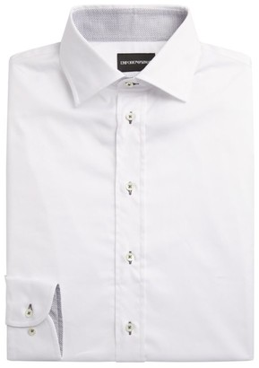 Emporio Armani Cotton Long-Sleeved Shirt