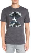 Original Penguin Forbidden Graphic Crew Neck Tee