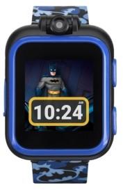 iTouch Kids PlayZoom Dc Comics Blue Batman Strap Touchscreen Smart Watch 42x52mm