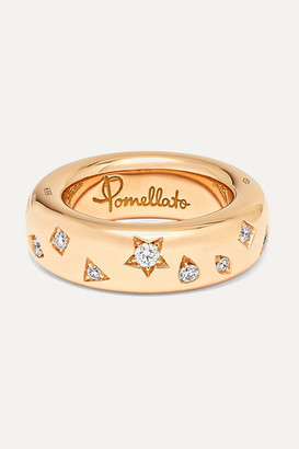 Pomellato 18-karat Rose Gold Diamond Ring - 13