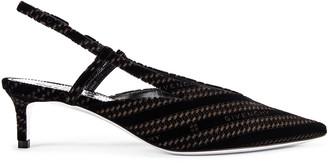 Givenchy 3V Slingback Sandals in Black | FWRD
