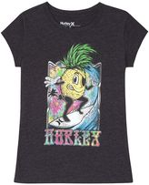 Hurley Girls 7-16 Pineapple Graphic Tee