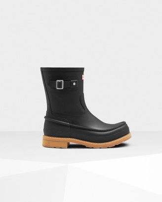 Hunter Men's Original Moc Toe Short Rain Boots