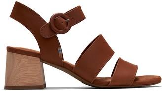 Tan Veg Tan Leather Women's Grace Sandals