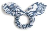 J.Crew Mermaid Print Bow Ponytail Holder
