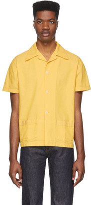 Levi's Clothing Yellow Denim Shirt