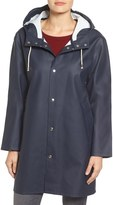 Stutterheim Women's Mosebacke Waterproof A-Line Hooded Raincoat