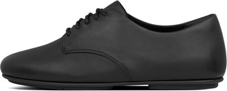 FitFlop Tomboy Oxford Leather Lace-Up Derbies