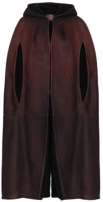 Prada Shearling cape