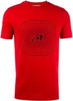 McQ by Alexander McQueen printed motif T-shirt - men - Cotton - L