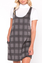 Everly Plaid Layered Dress