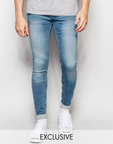 Blend of America Jeans Lunar Super Skinny Fit Vintage Light Wash