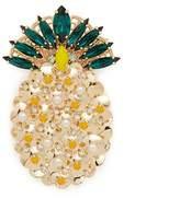 Anton Heunis 'Ananas' Swarovski crystal pearl pineapple brooch