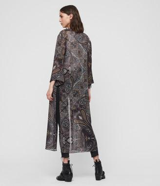 AllSaints Carine Scarf Kimono