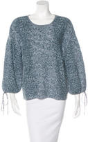Chanel Abstract Print Linen Sweater