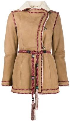 Etro Trimmed Tie-Waist Jacket