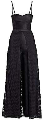 Missoni Women's Sweetheart Knit Overlay Jumpsuit