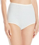 Vanity Fair Women's Perfectly Yours Tailored Cotton Brief Panty