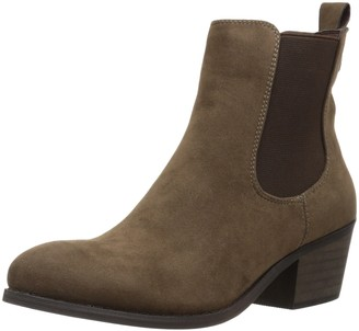 Callisto Women's Ammore Chelsea Boot Taupe Suede 8 M US