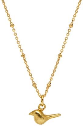 Mirabelle Jewellery Tiny Bird Charm Pendant