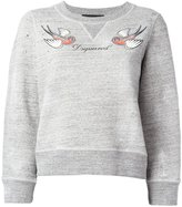 DSQUARED2 bird logo sweatshirt - women - Cotton - XS