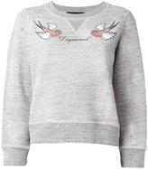 DSQUARED2 bird logo sweatshirt