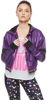 Juicy Couture Sport High Shine Nylon Packable Jacket